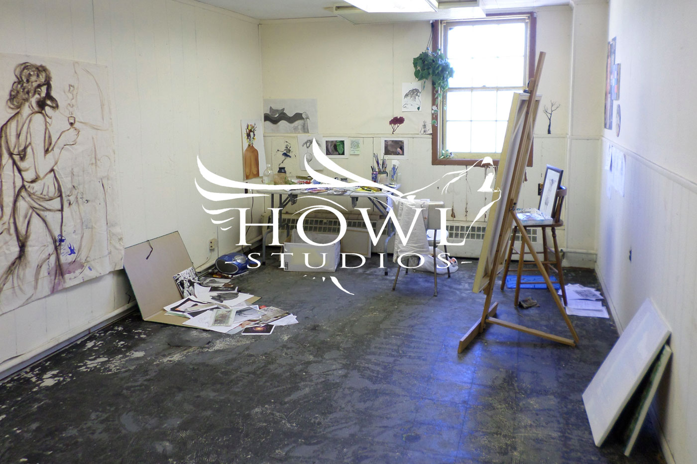 Welcome to Howl Studios - Art Studio and Rehearsal Spaces